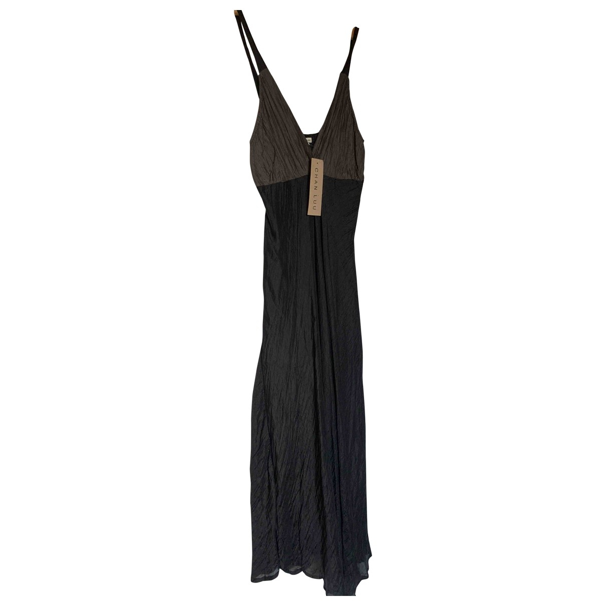 Chan Luu - Robe   pour femme en soie - noir