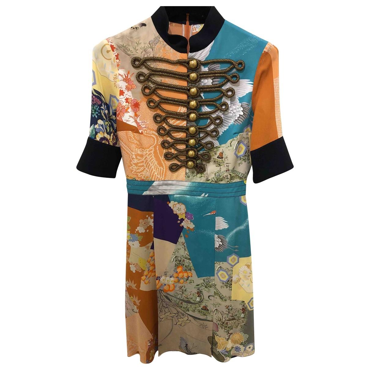 Gucci \N Multicolour Silk dress for Women 36 IT