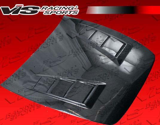 VIS Racing 00HDS2K2DTM-010C Carbon Fiber Terminator Hood Honda S2000 00-09