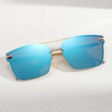 Gafas de sol de hombres con barra