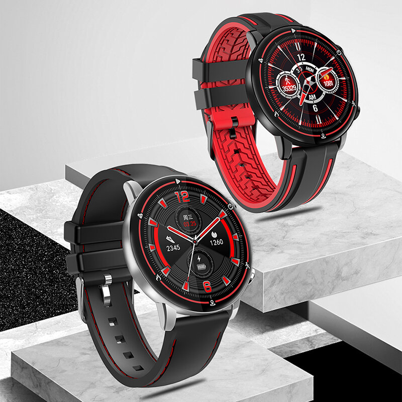 Multifunctional Touch Screen Smart Watch Sports Watch IP68 Waterproof Pedometer Health Monitoring for Men Sport Bracelet