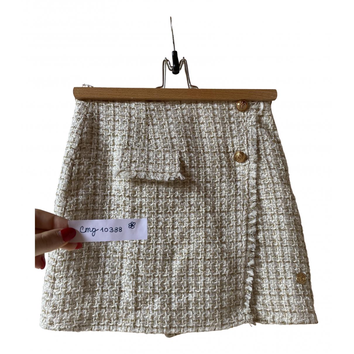 Non Signe / Unsigned \N Rocke in  Beige Tweed