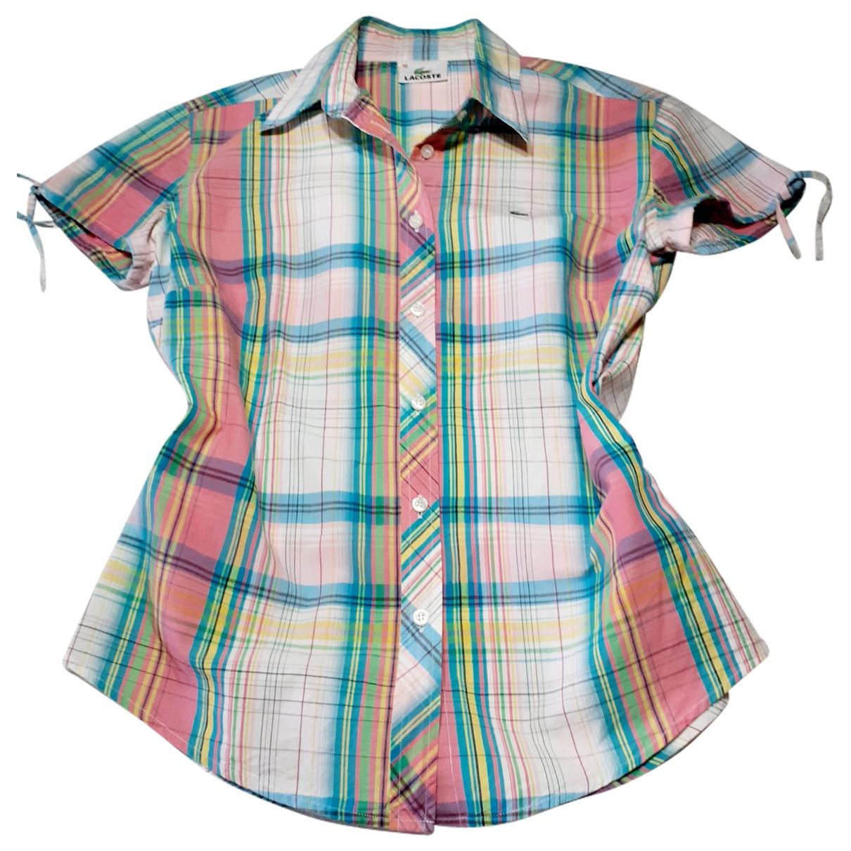 Lacoste \N Multicolour Cotton  top for Women 38 FR