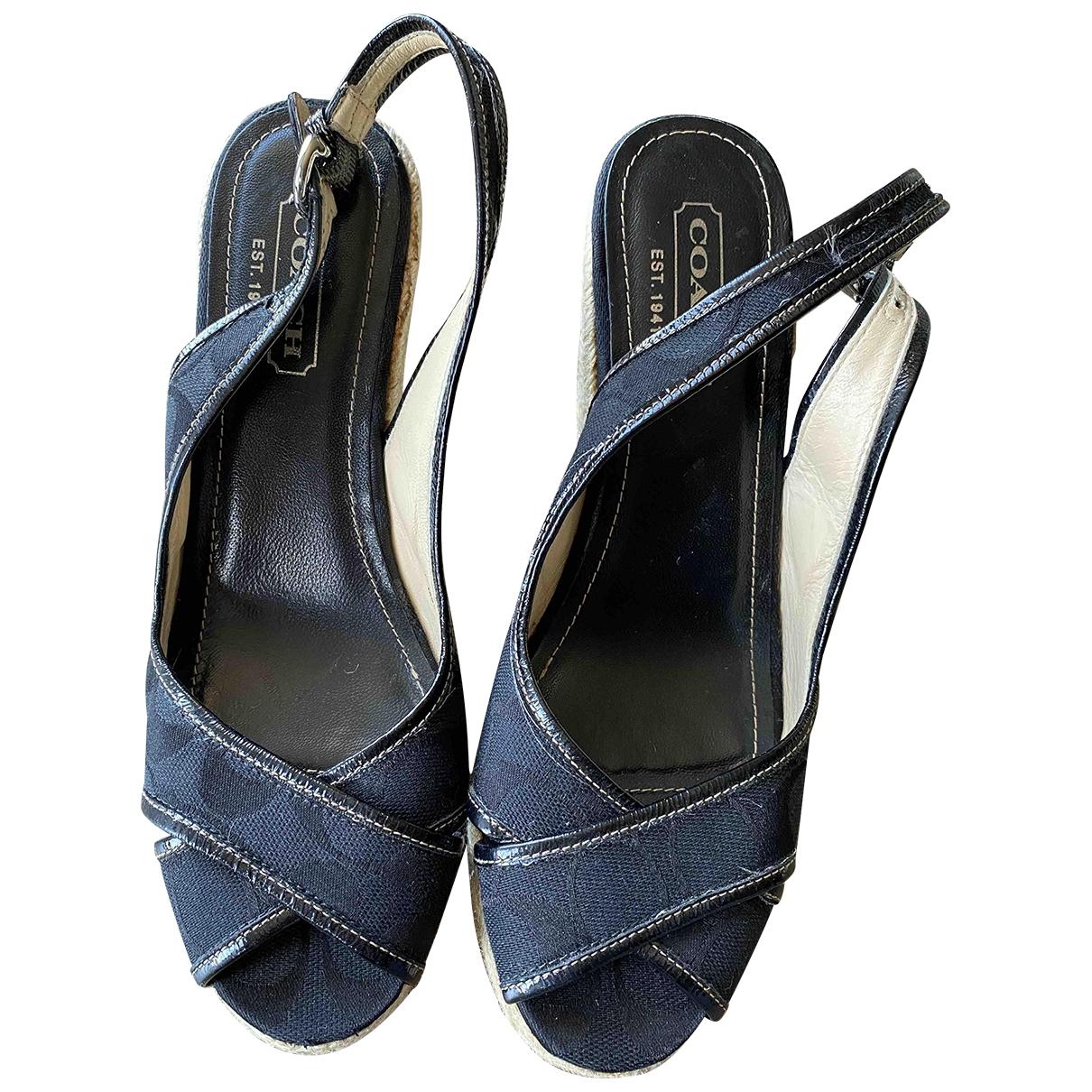 Sandalias de Lona Coach