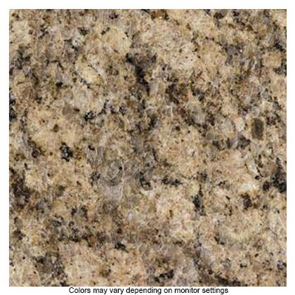 50101GVG Superior Q Granite Countertop Upgrade: Giallo