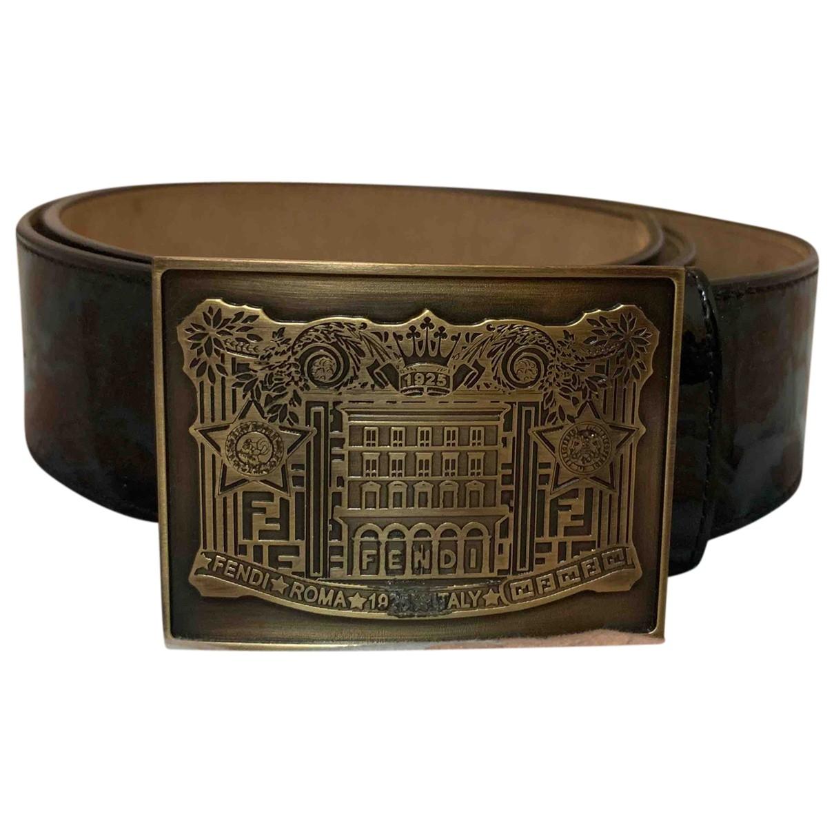 Cinturon de Charol Fendi