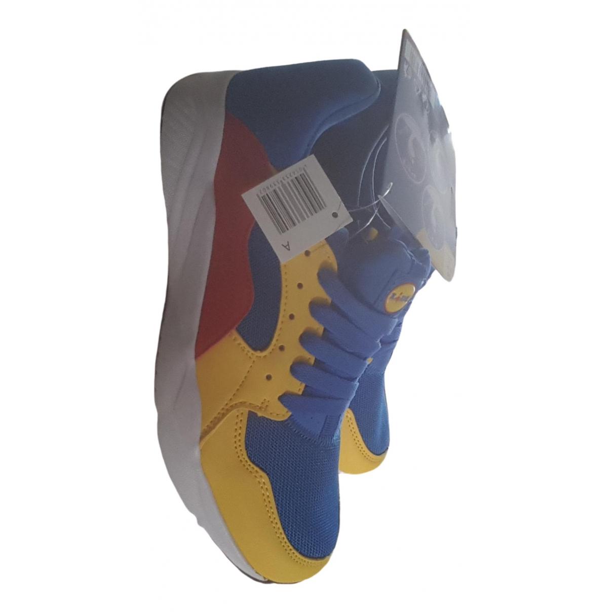 Lidl \N Sneakers in  Blau Polyester