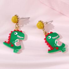Girls Dragon Drop Earrings