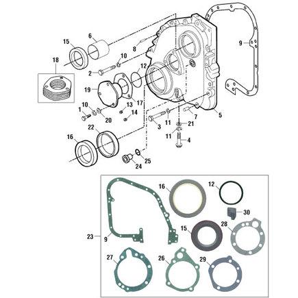 Pai CUP131368 - Gasket,Fuel Pump Mounting 1 (Representative Image)