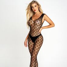 Fishnet Cut-out Bodystocking
