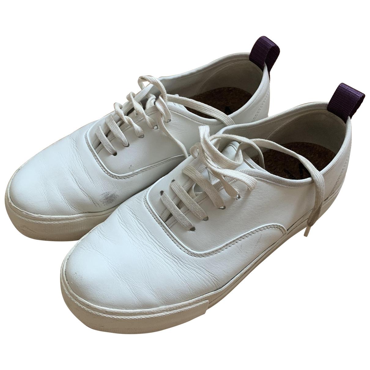 Eytys - Baskets   pour femme en cuir - blanc