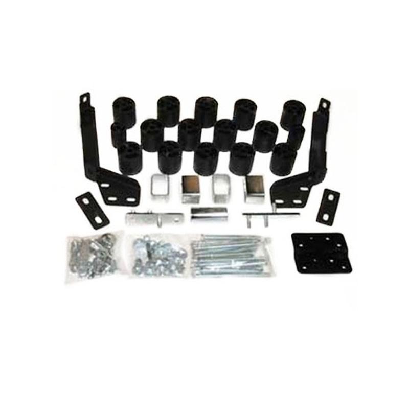 3 Inch Body Lift Kit 00-02 Dodge Ram Not Sport 2500/3500 2WD/4WD w/Auto Trans Gas Performance Accessories PA60073
