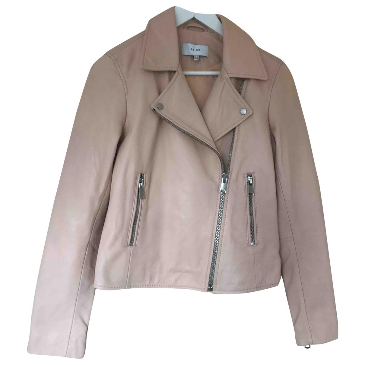 Reiss \N Leather jacket for Women 8 UK
