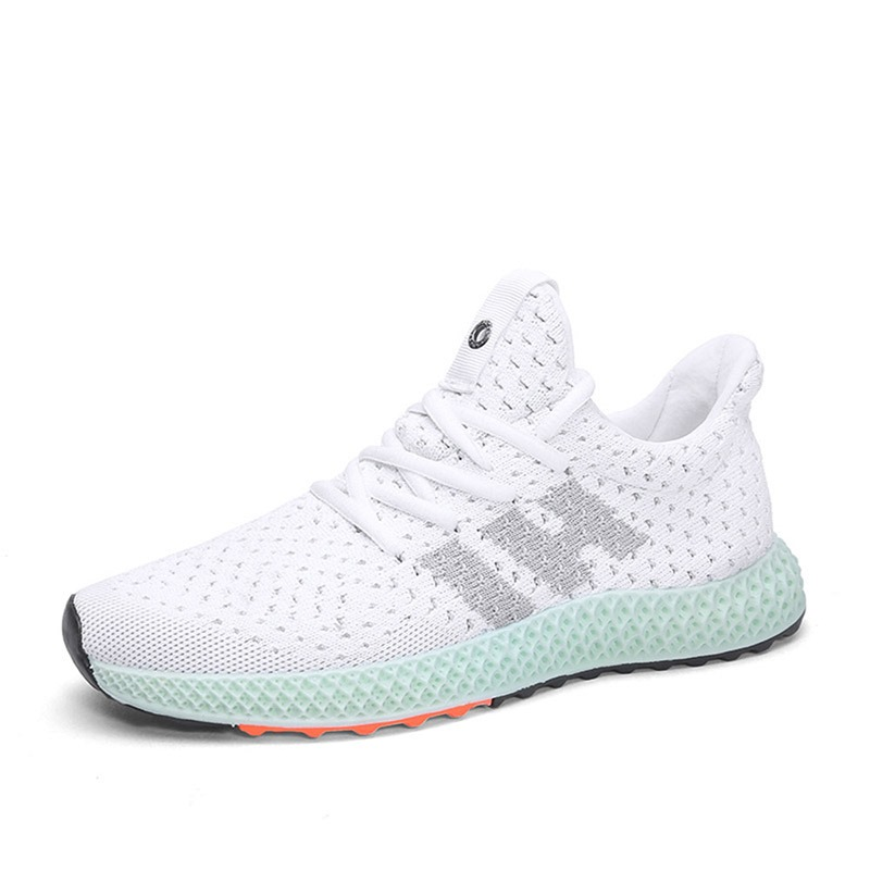 Ericdress Mesh Lace-Up Low-Cut Upper Round Toe Men's Sneakers