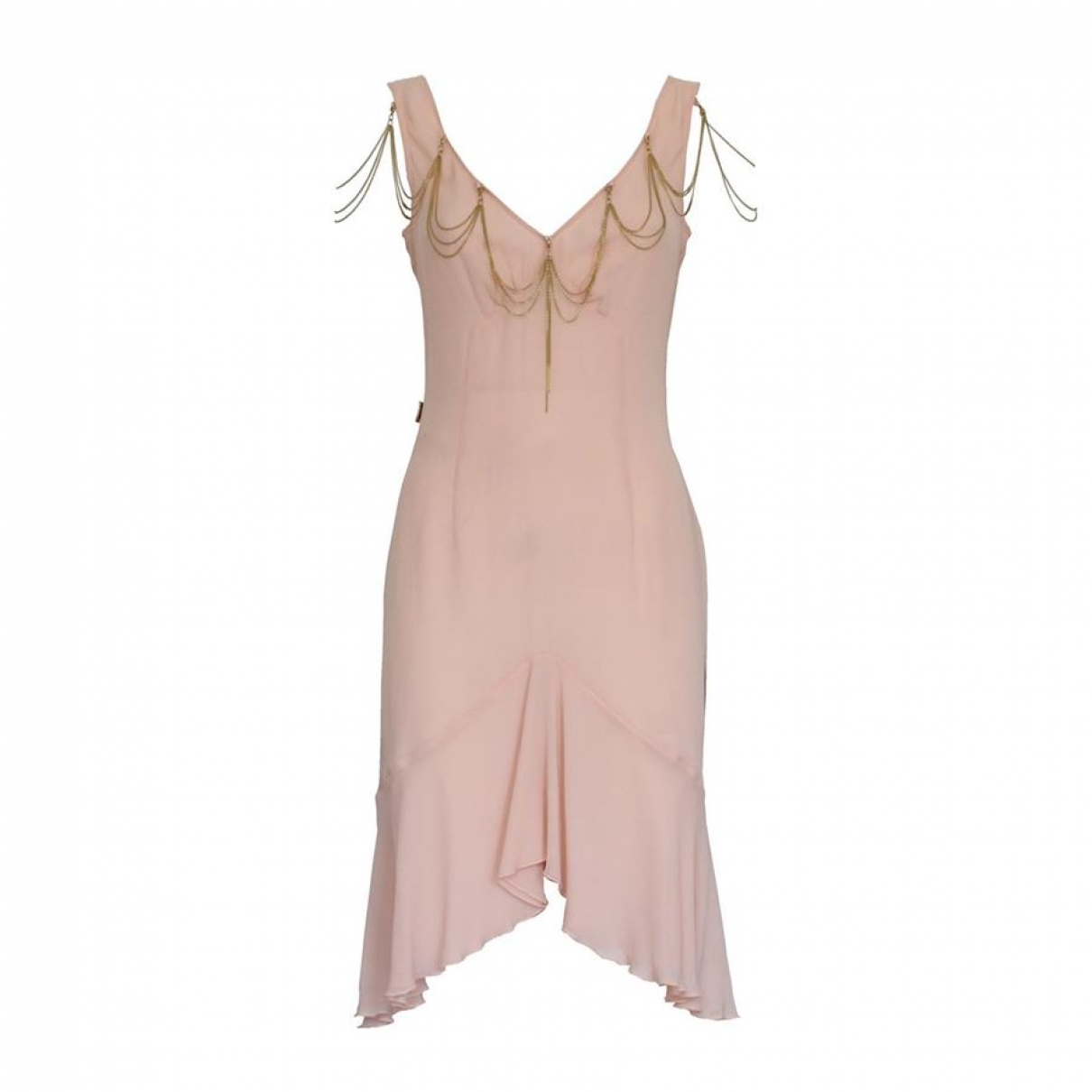 Vestido de Seda Moschino