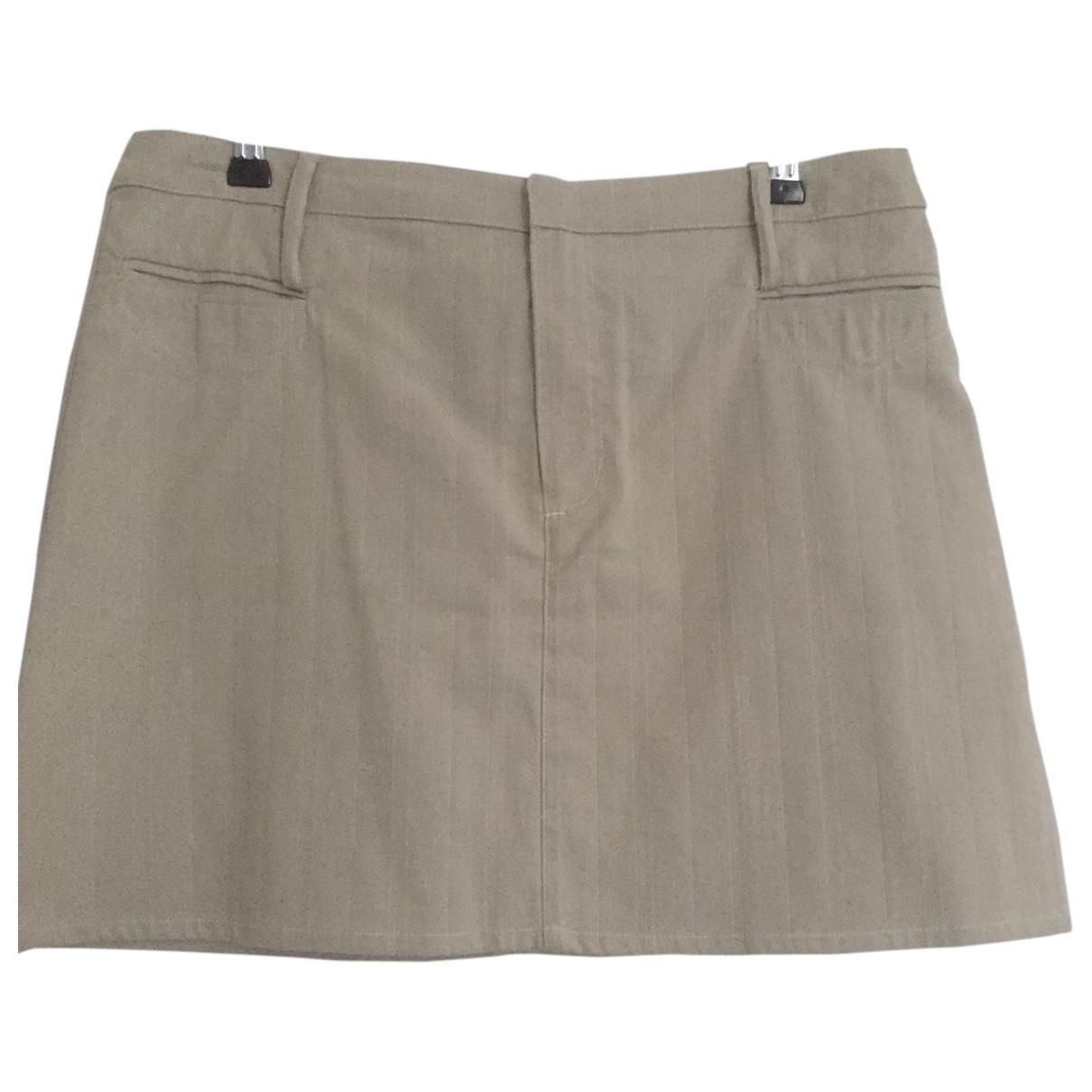 D&g - Jupe   pour femme en coton - beige