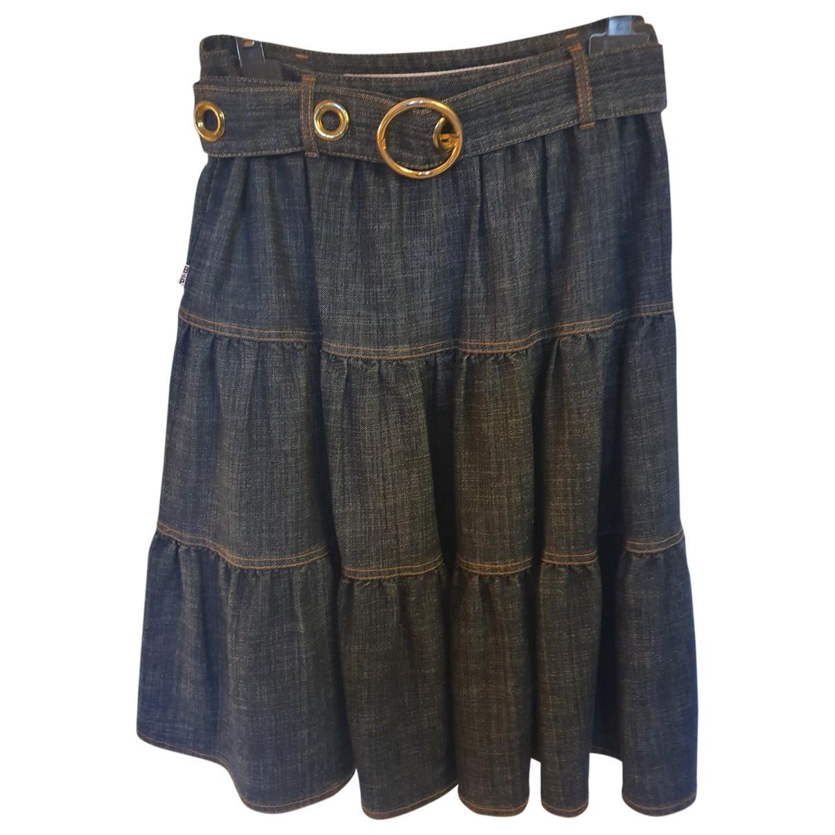 Baum Und Pferdgarten N Blue Denim - Jeans skirt for Women 42 FR
