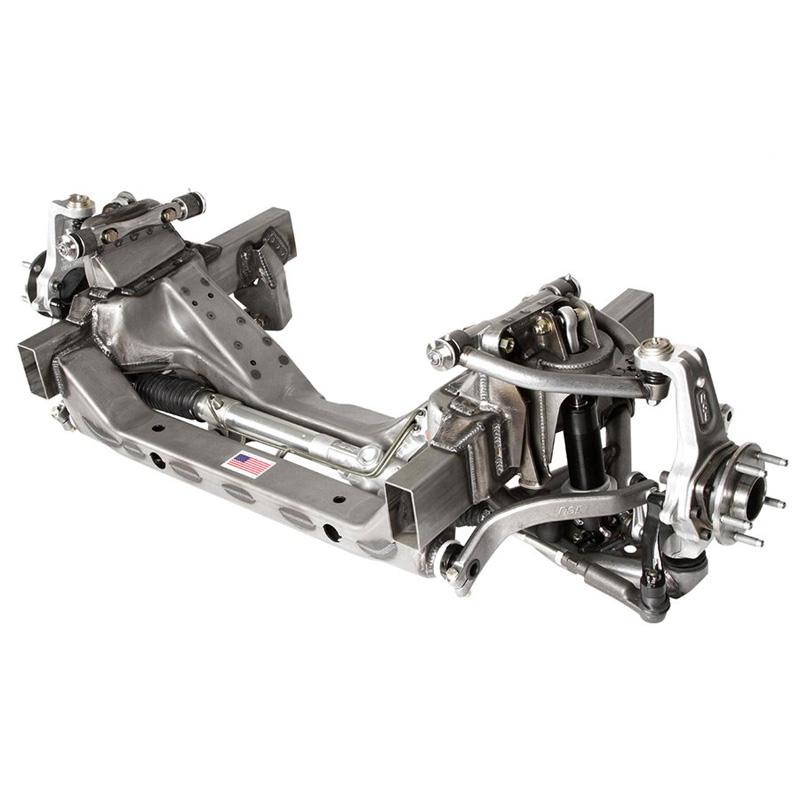 Detroit Speed 032041-D X-Gen 535 Front Suspension Module W/GM 5 on 4-3/4 Bolt Pattern Double Adjustable Shocks (53.5 Inch Hub to Hub)