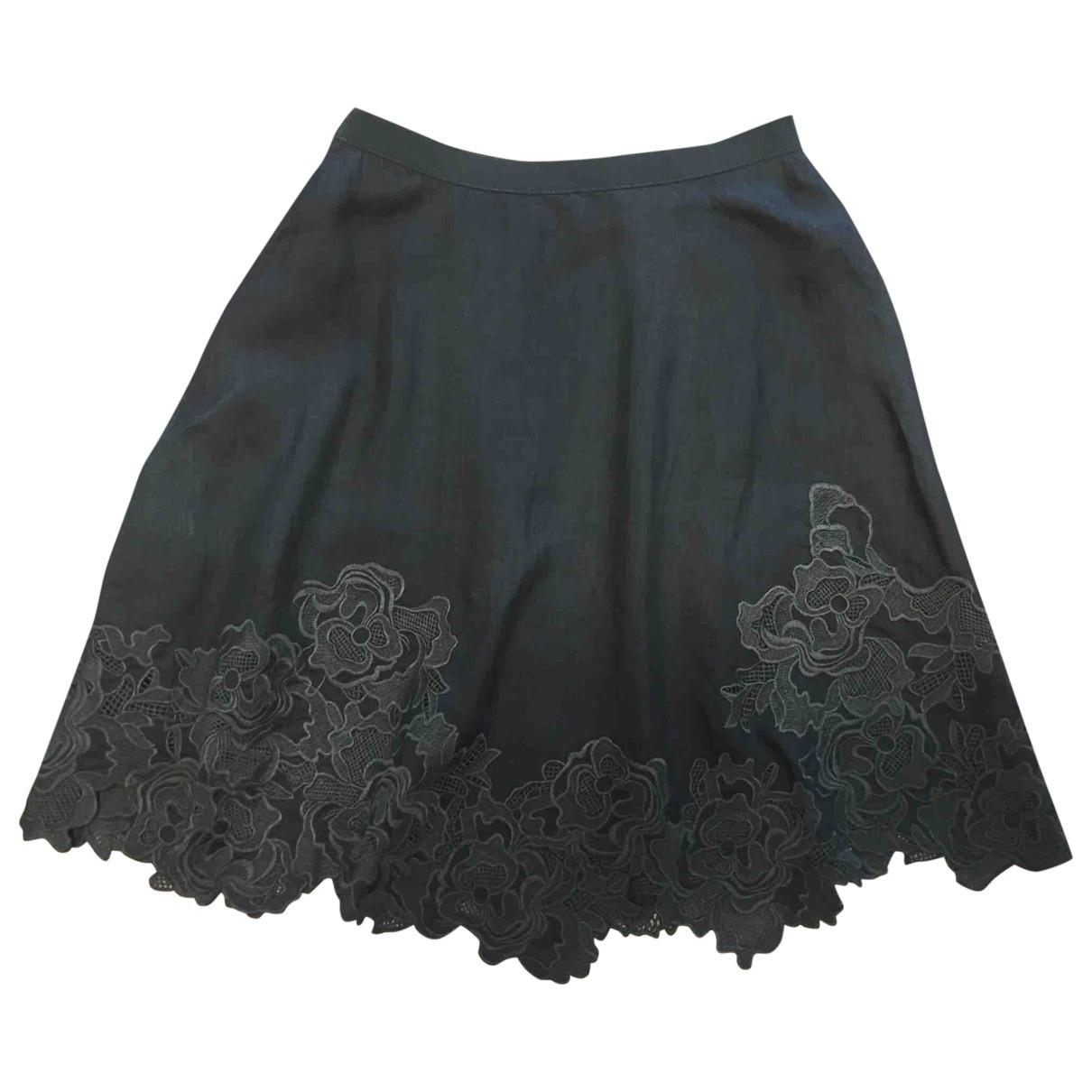 Mini falda de Seda Elie Tahari