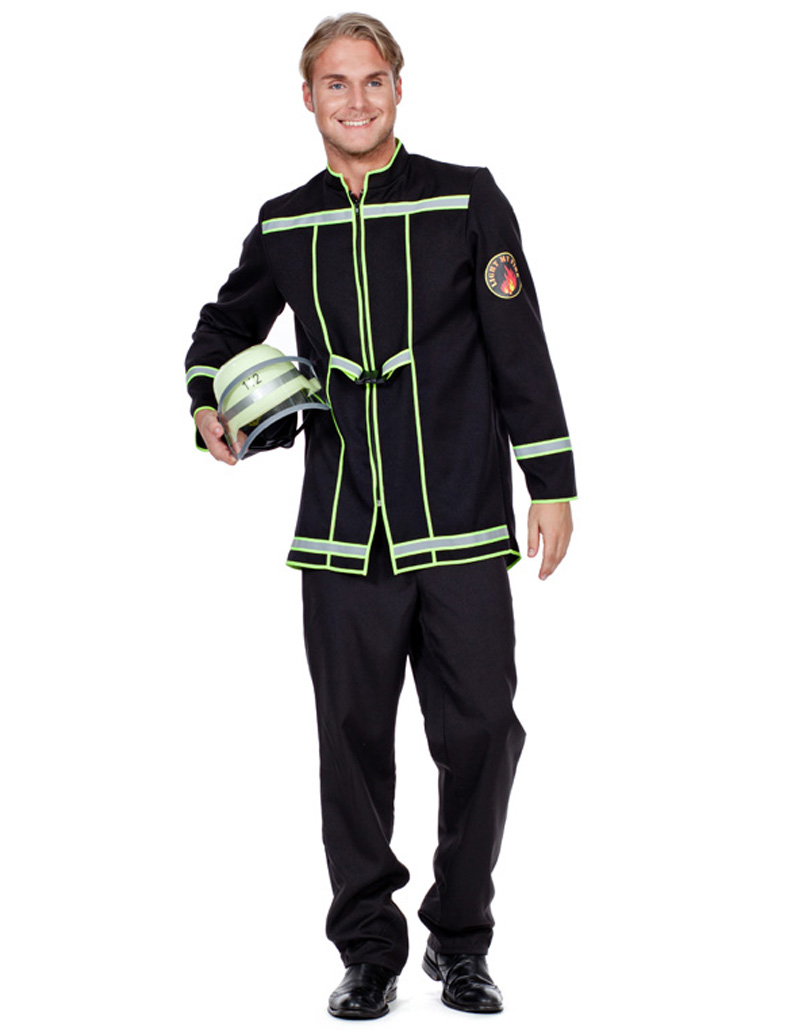 Herren-Kostuem Jacke Feuerwehrmann Grosse: 60