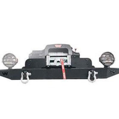Warn Planetary Winch Mounting Kit (Black) - 21390