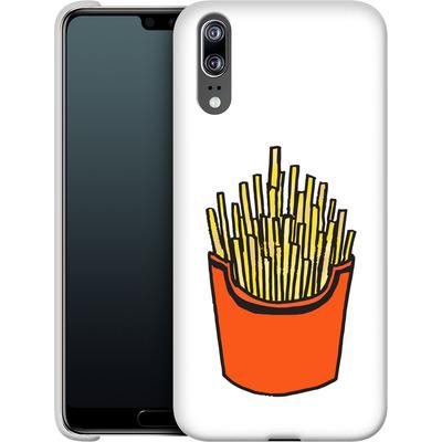 Huawei P20 Smartphone Huelle - Fries von caseable Designs