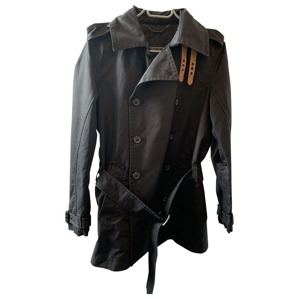 Diesel \N Black Denim - Jeans jacket  for Men S International