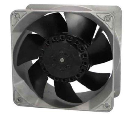 RS PRO , 230 V ac, AC Axial Fan, 176 x 176 x 89mm, 645.6m³/h, 80W, IP56
