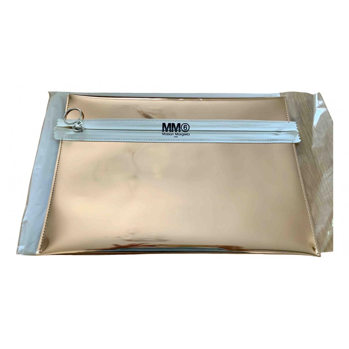 Mm6 - Pochette   pour femme - metallise