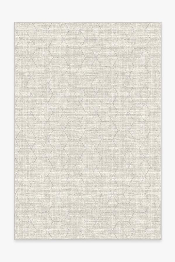 Washable Rug Cover & Pad | Prisma Monochrome Rug | Stain-Resistant | Ruggable | 6'x9'