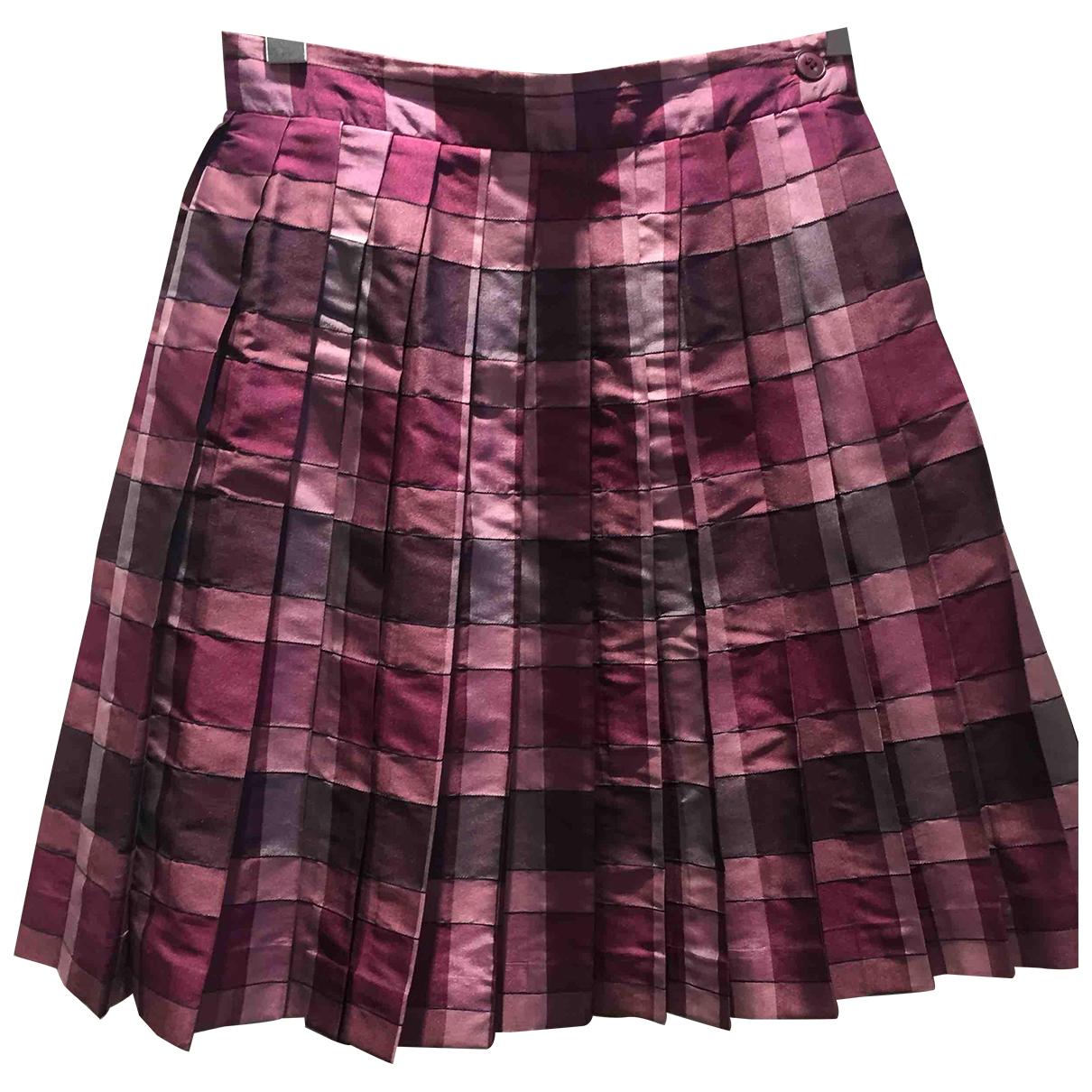 Alberta Ferretti N Silk skirt for Women 40 IT