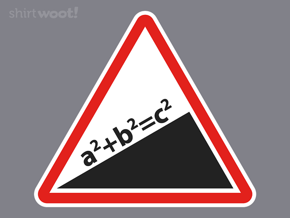 Pythagorean Theorem T Shirt