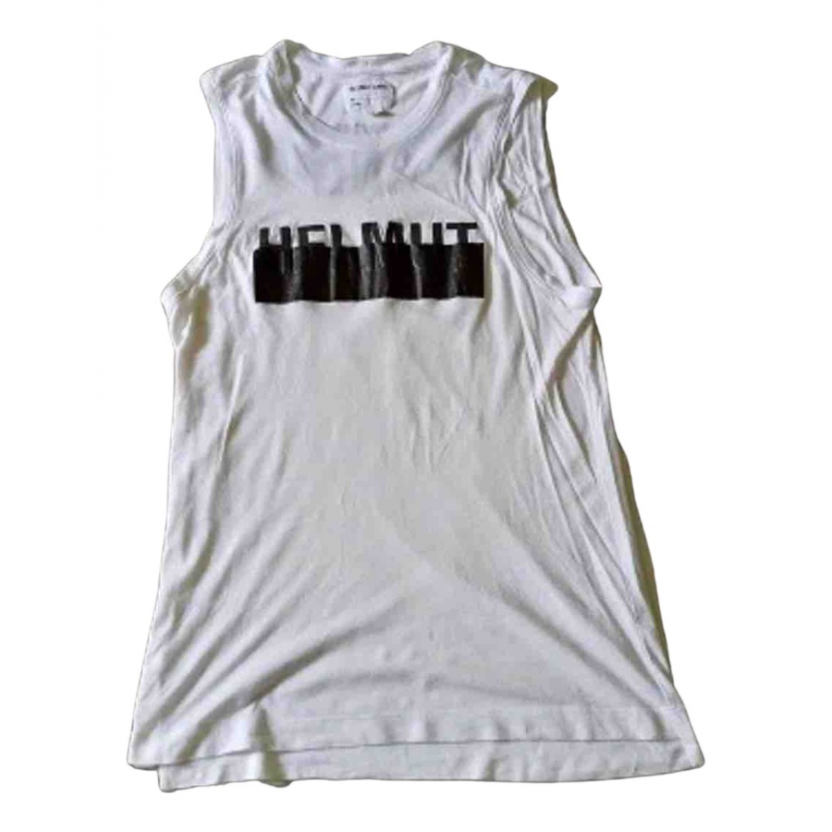 Helmut Lang - Tee shirts   pour homme en coton - blanc