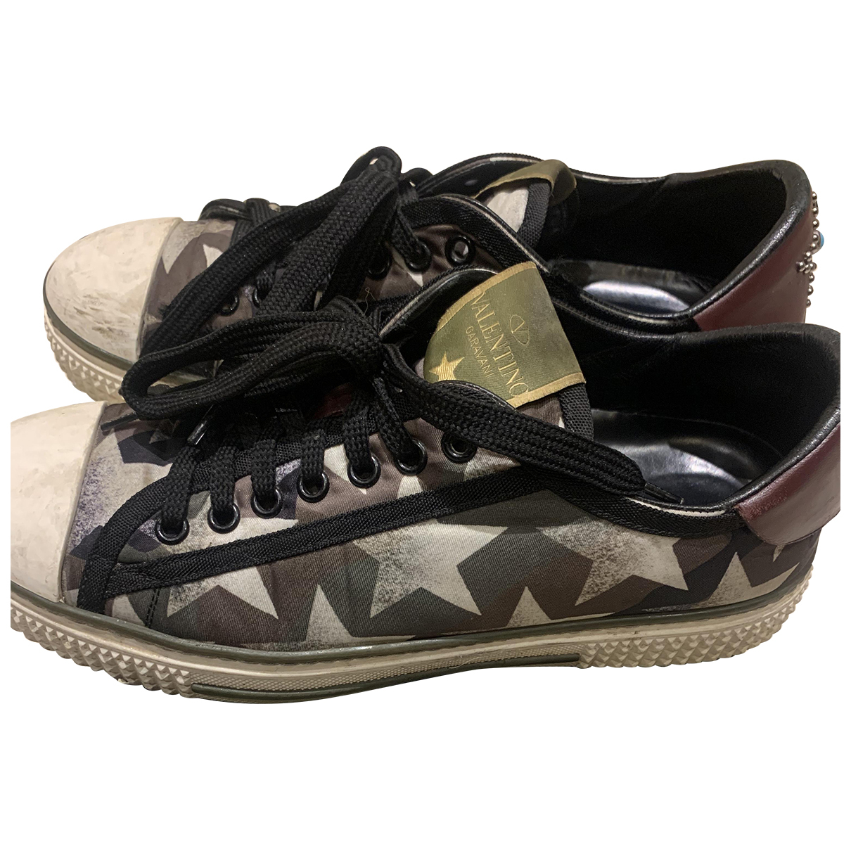 Valentino Garavani N Khaki Trainers for Women 39 EU