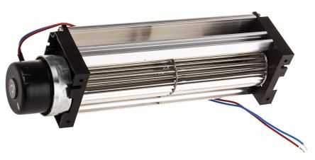 ebm-papst Tangential Centrifugal Fan 47.5 x 50 x 201mm, 75m³/h, 24 V dc DC (QG030 Series)