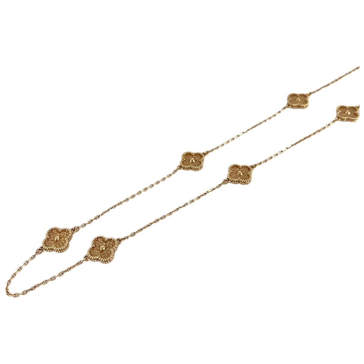 Collar Sweet Alhambra de Oro rosa Van Cleef & Arpels