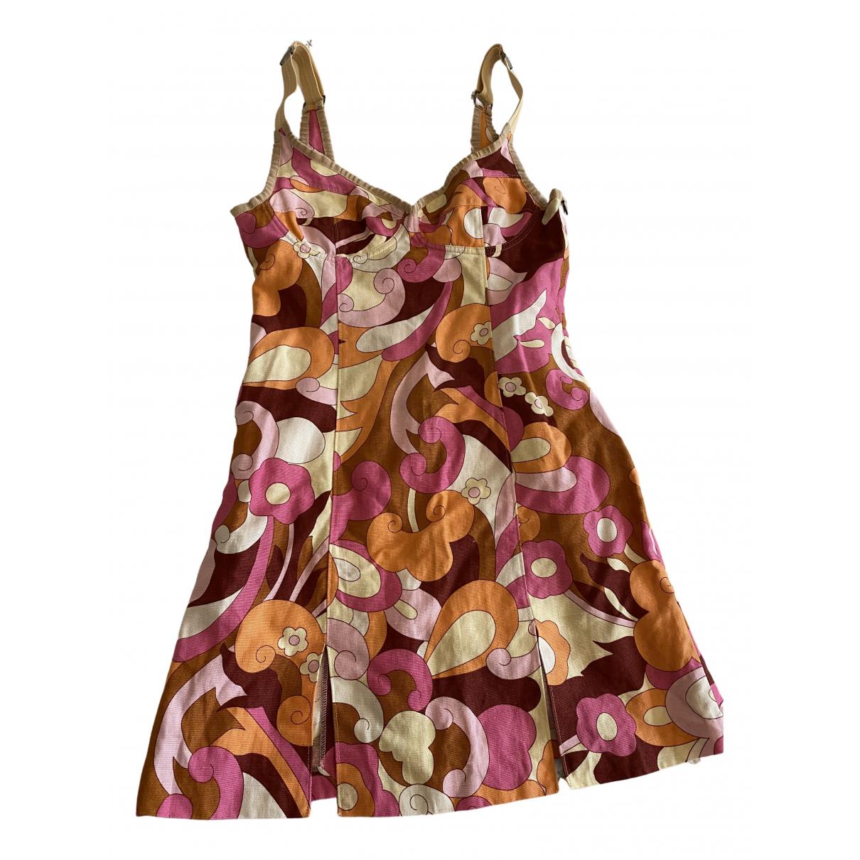 D&g - Robe   pour femme en lin