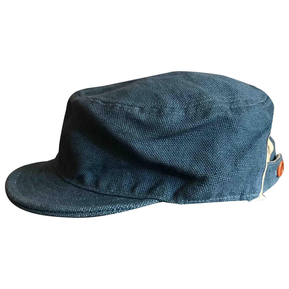 Paul Smith \N Blue Linen hat & pull on hat for Men M International