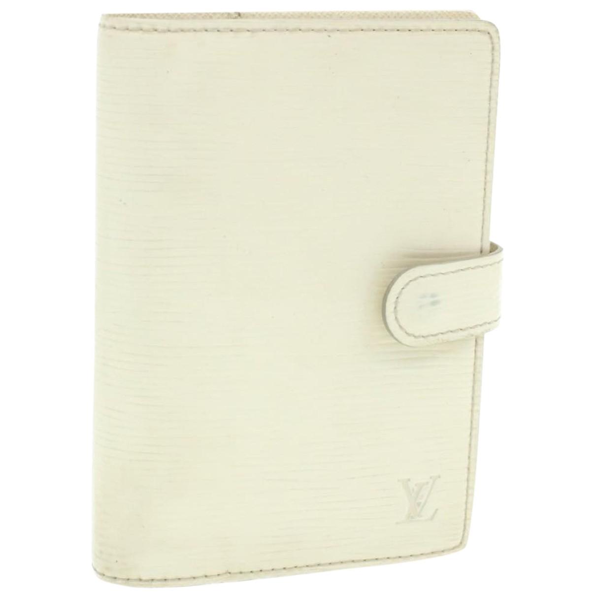 Louis Vuitton - Objets & Deco   pour lifestyle en cuir - blanc