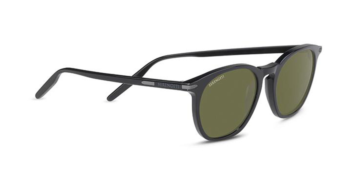 Serengeti Arlie 8935 Mens Sunglasses Black Size 52