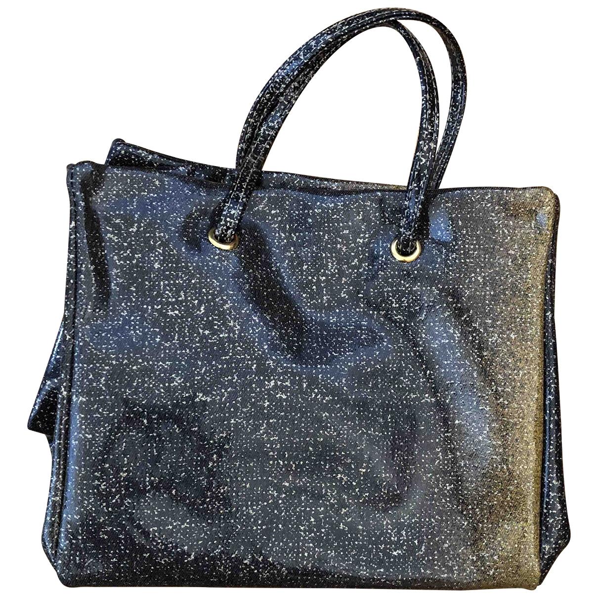 Roberto Cavalli \N Handtasche in  Metallic Kunststoff