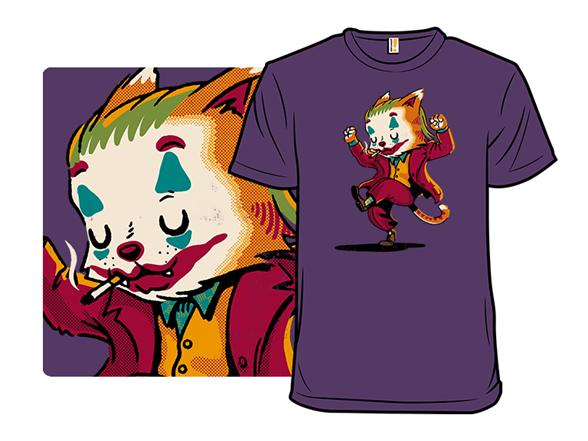 Feline Joker T Shirt