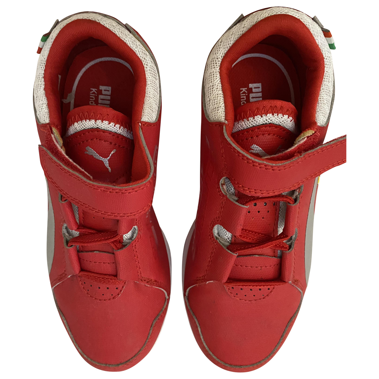 Puma \N Red Rubber Trainers for Kids 31 FR