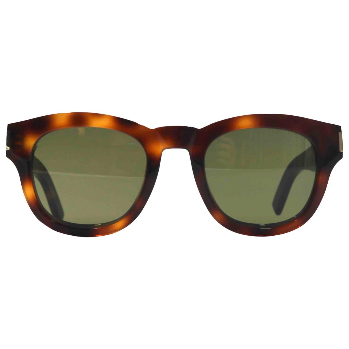 Saint Laurent N Brown Sunglasses for Men N