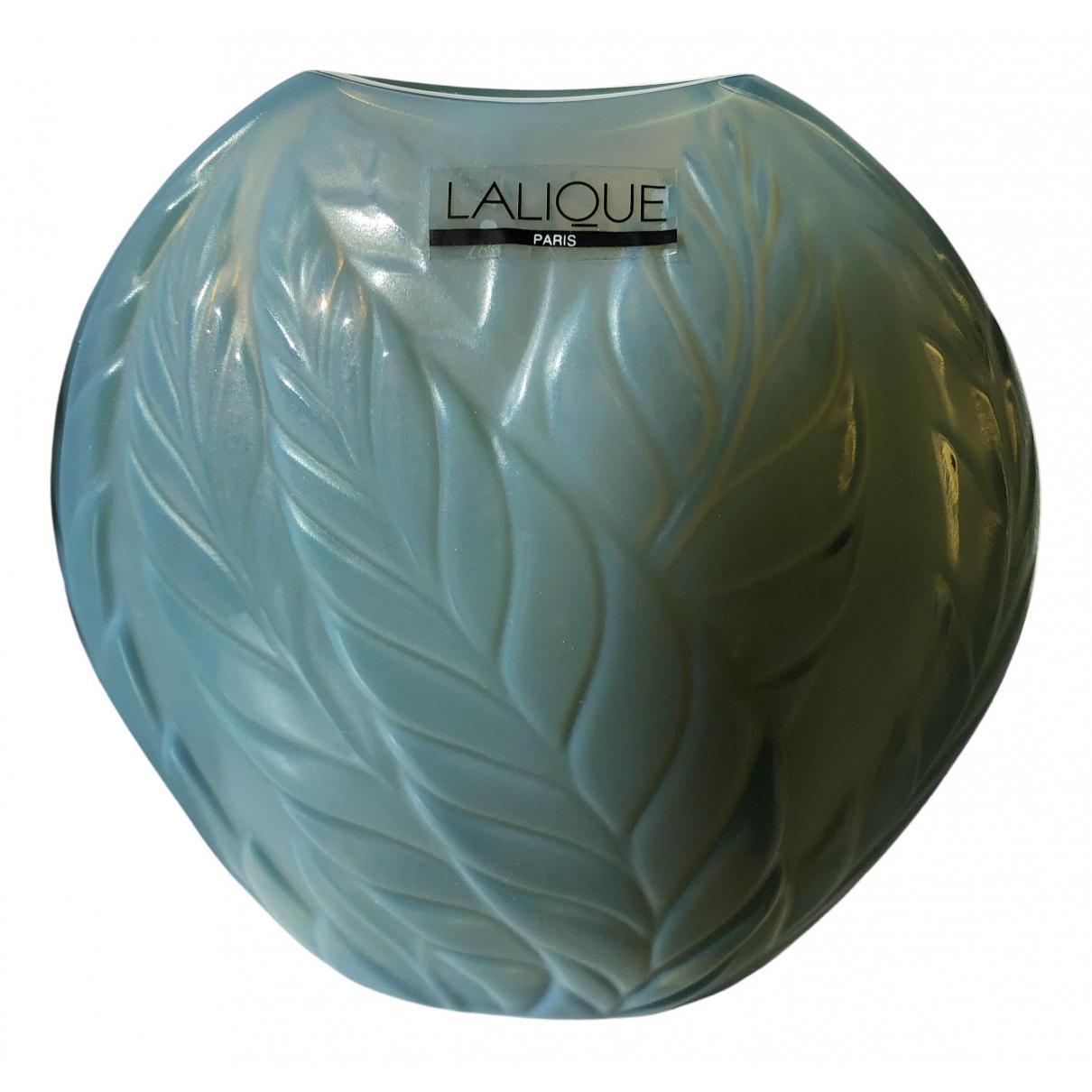 Lalique \N Accessoires und Dekoration in  Gruen Kristall