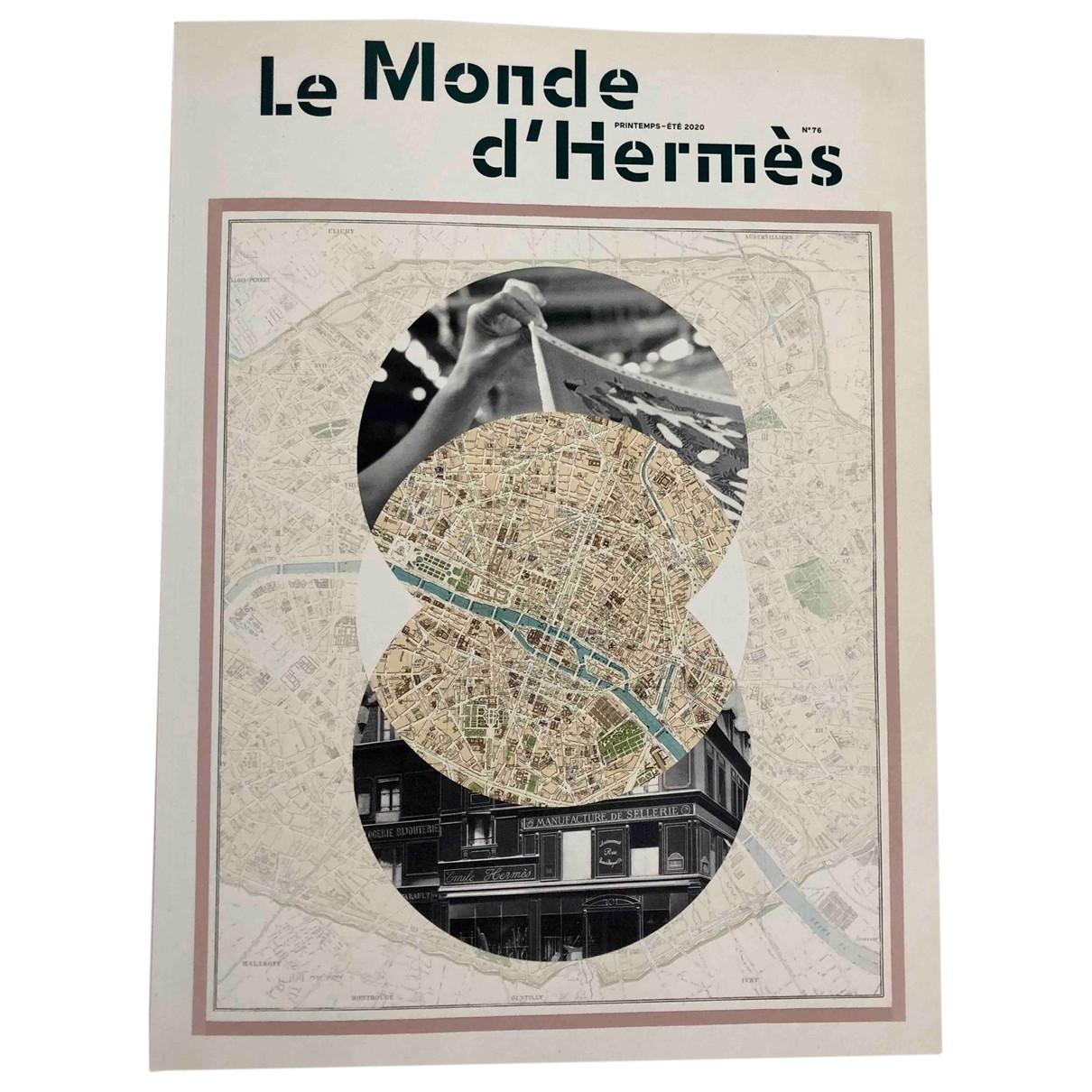 Hermes - Mode   pour lifestyle en autre - beige