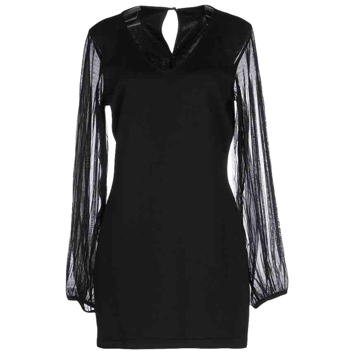 Luxury Fashion \N Kleid in  Schwarz Polyester