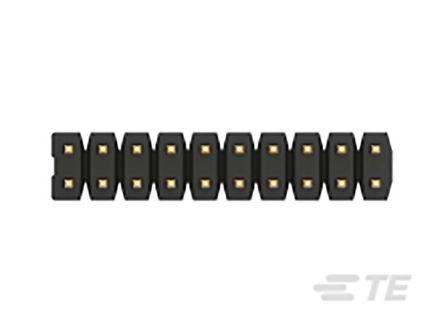 TE Connectivity , AMPMODU, 12 Way, 2 Row, Vertical PCB Header (48)