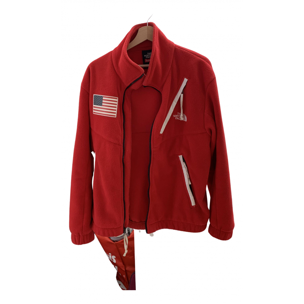 Supreme X The North Face N Red jacket  for Men M International