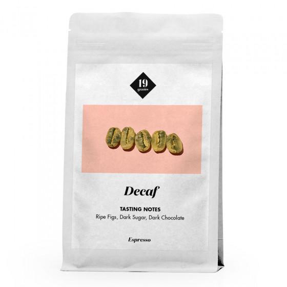 "Kaffeebohnen 19 grams ""Decaf Espresso"", 250 g"